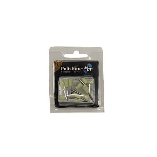 Picture of Zendo COMPOSITE POLISHERS CUP refill silk finish - light yellow pack of 12 PLC675SF