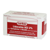 Picture of Cook-Waite Lidocaine HCl 2% w/ Epi 1:100,000, (Red) 50 1.7ml Carp/Bx