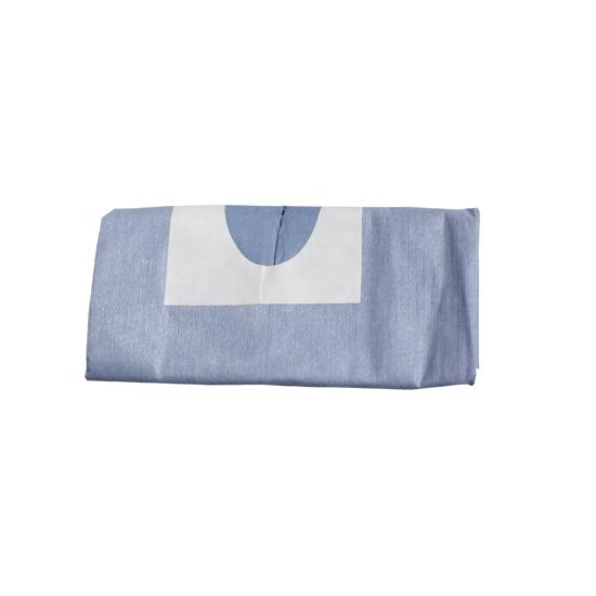 "Picture of OMNIA® Absorb/liq proof drape 39.4""x59.1"" w/ adhes U-shape 2.56""x11.82"", 25 Drape/Bx"
