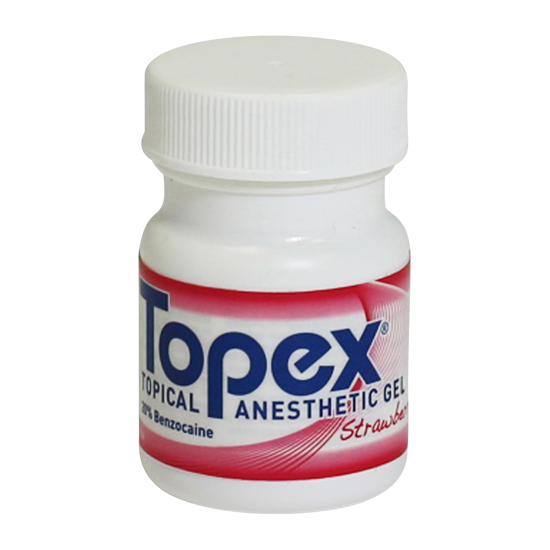 Picture of Sultan Topex® Topical Anesth Gel Strawberry 1oz. (30ml), 1 Jar/Pk