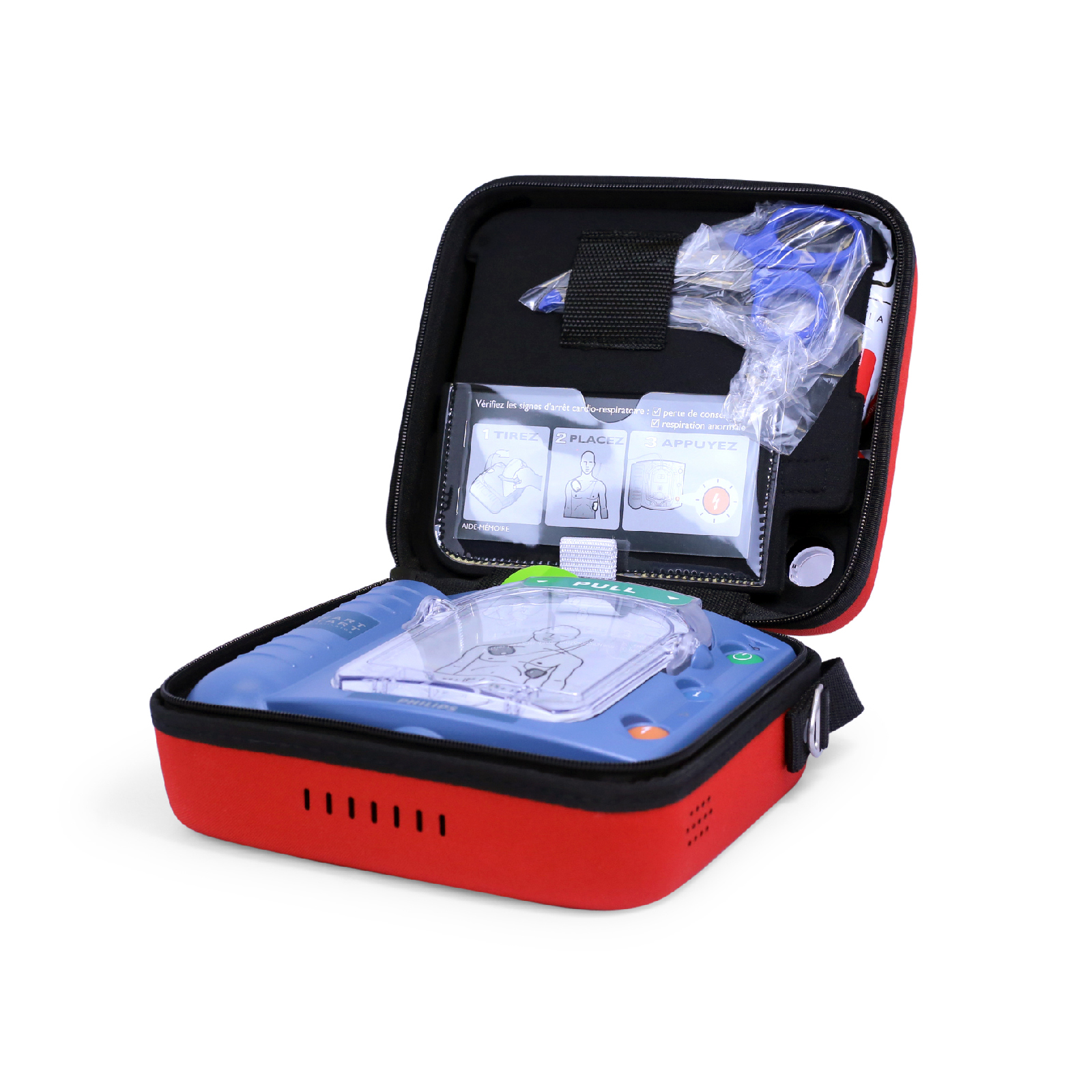 Picture of Philips AED ENGLISH HeartStart OnSite AED with Ready-Pack configuration, Standard Carrying Case