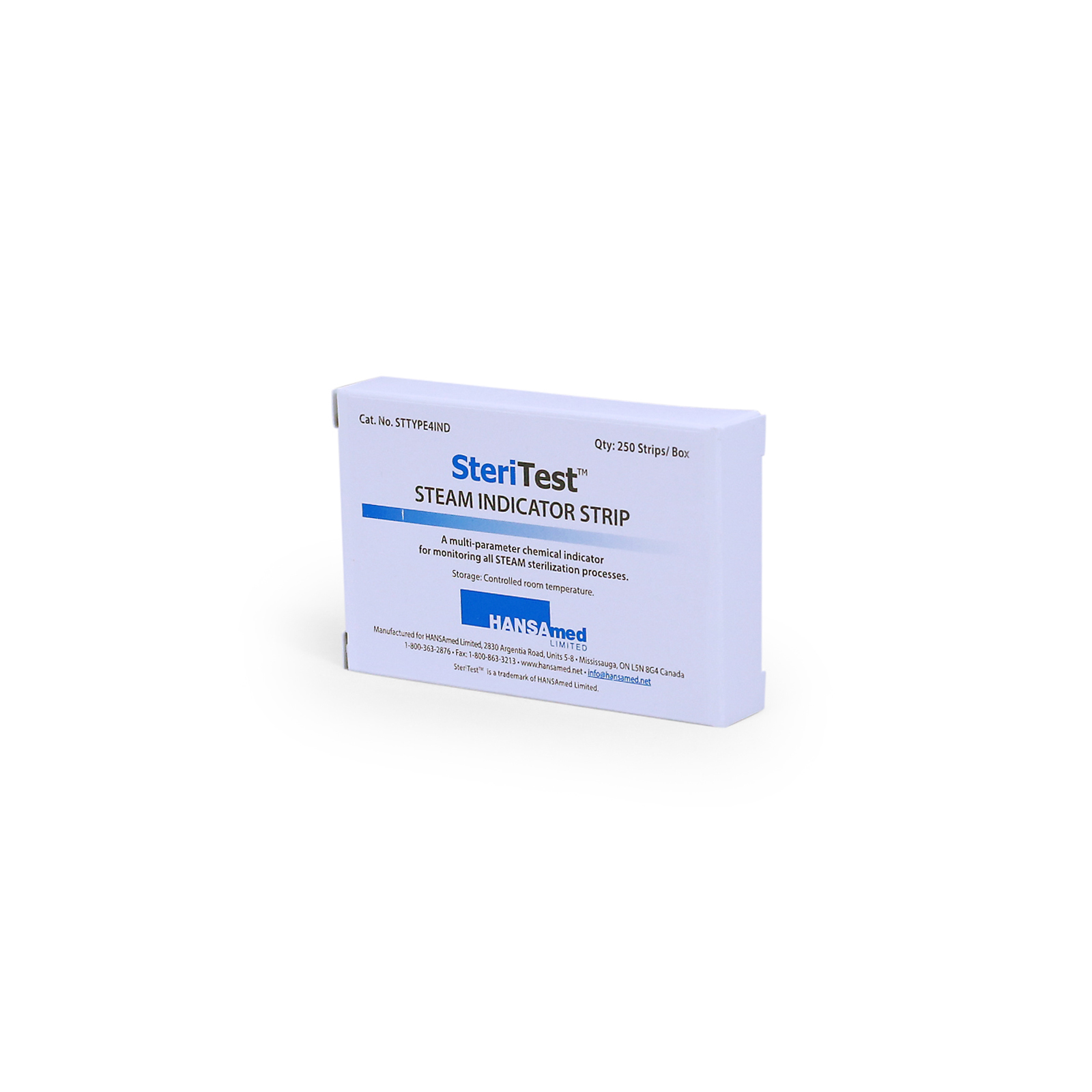 Picture of SteriTest™ Class 4 Sterilization Indicator Strips, 250 Strips/Bx