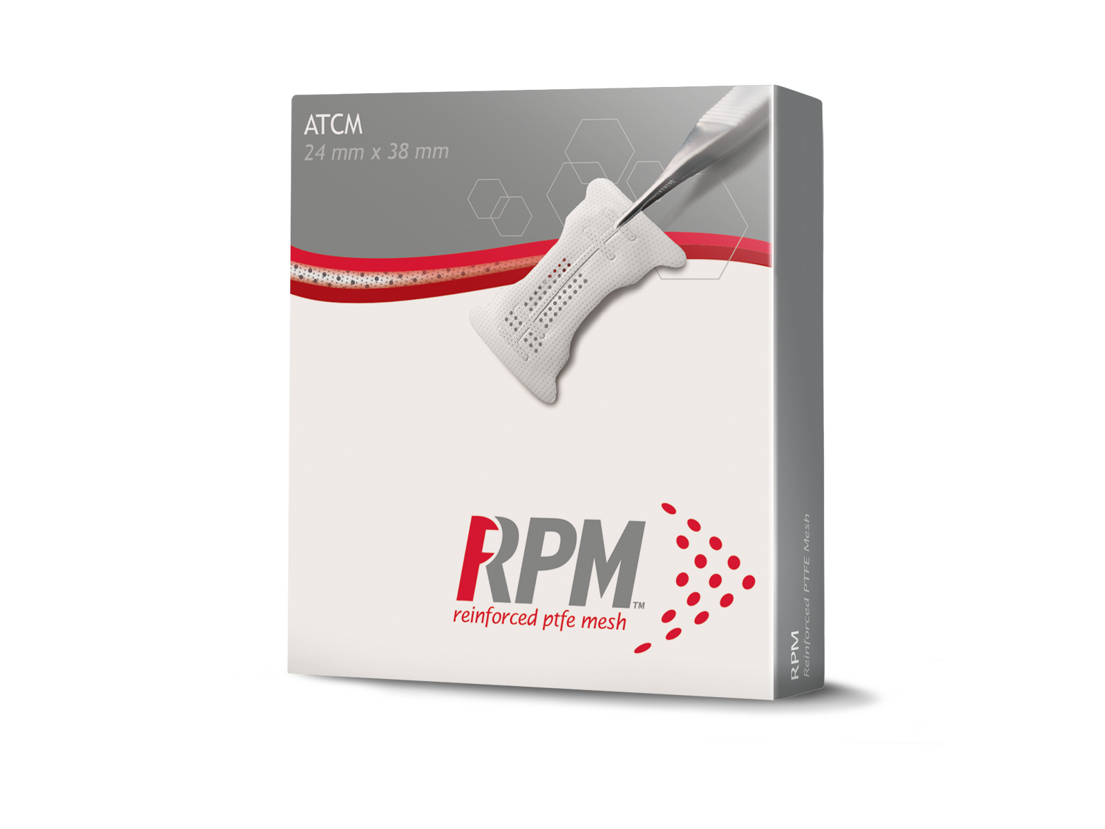 Picture of Geistlich RPM200ATCM Interproximal Shapes 24 mm x 38 mm, 1 Unit/Box