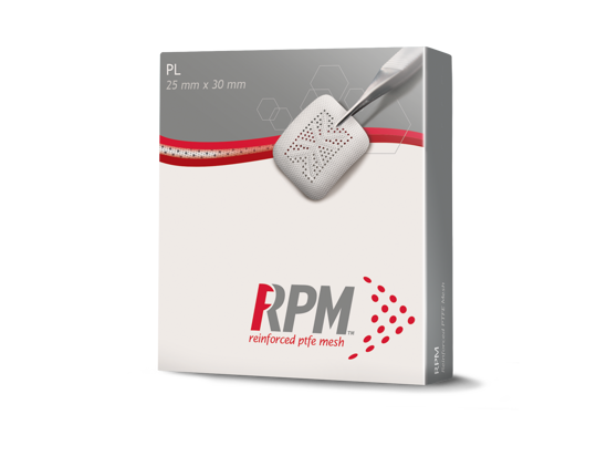 Picture of Geistlich RPM200PL Versatile Rectangular Shapes 25 mm x 30 mm, 1 Unit/Box