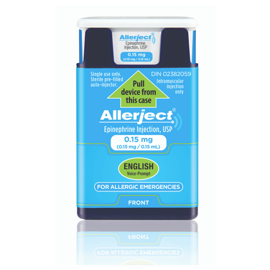 Picture of Allerject English 0.15mg injection, 1 Inj/Bx