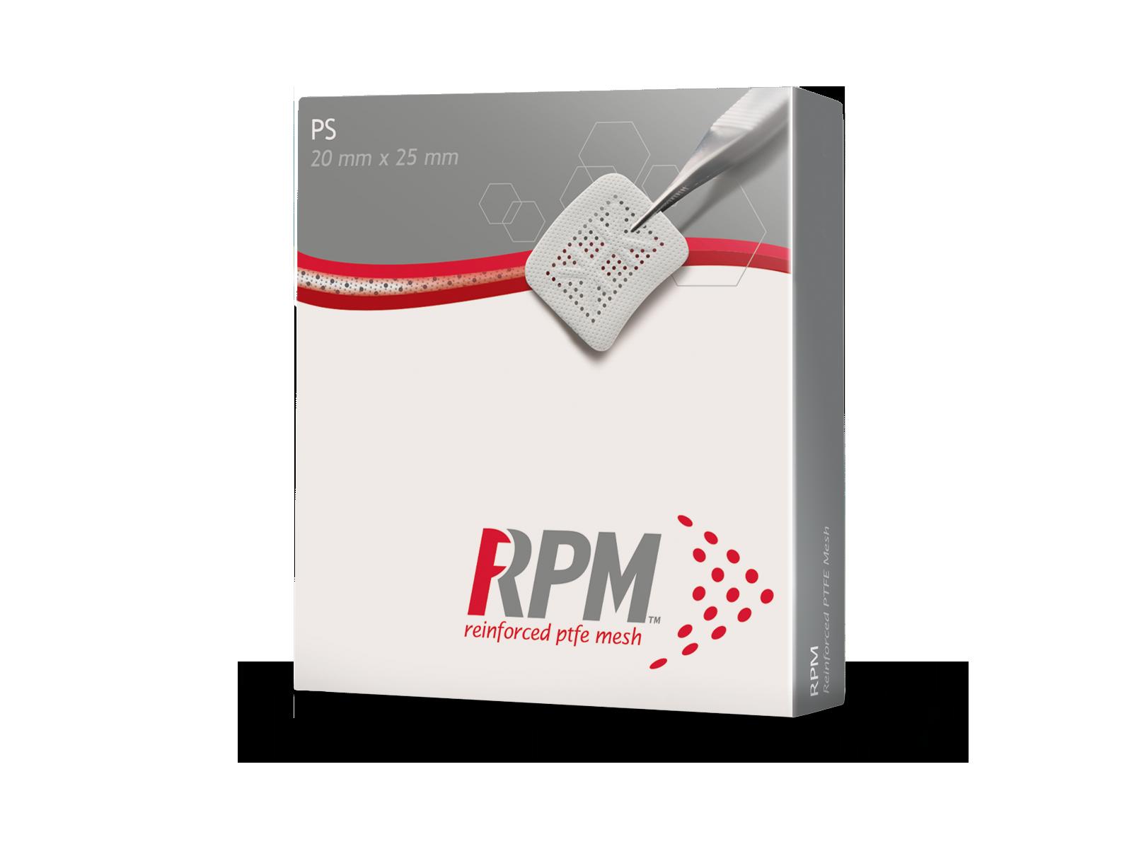 Picture of Geistlich RPM200PS Versatile Rectangular Shapes 20 mm x 25 mm, 1 Unit/Box