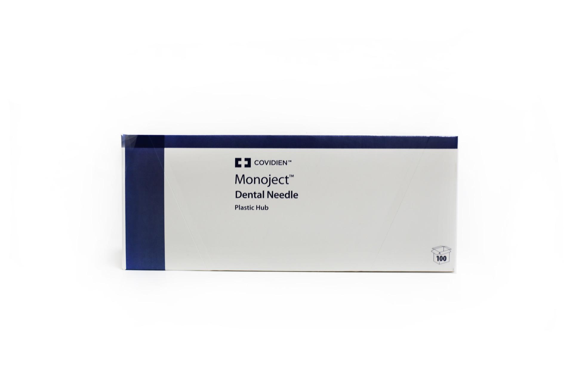 Picture of MONOJECT® 400 Plastic Hub Dental Needle 27G Long (1.25)