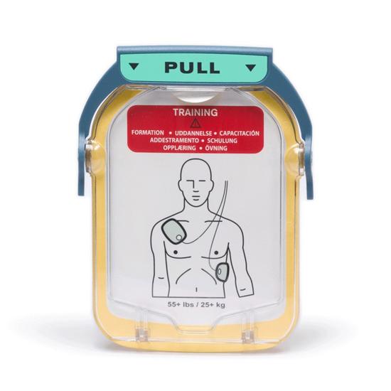 Picture of Philips HeartStart FR Cartouche d'electrodes de formation 1 paire Adulte, 1 U/Pk